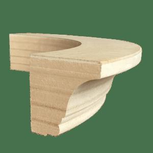 Карниз радиусный МДФ для кухоной мебели