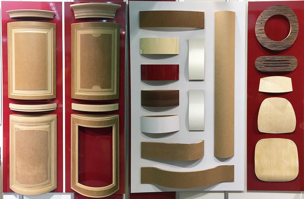 Гнутоклееные панели и изделия из них